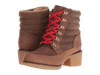 Durango Cabin 6 Lacer Brown Women's Lace Up Boots