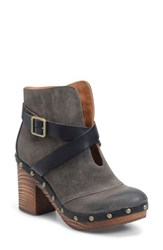 Kork Easer Women's Ease Razzoli Bootie Taupe Black Suede