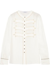 Altuzarra Huntsman Silk Charmeuse Shirt
