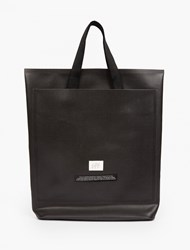 Eytys Black Custom Polyester 'Void' Small Tote Bag