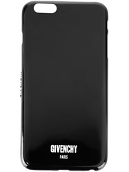 Givenchy Logo Print Iphone 6 Plus Black