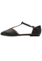 Warehouse Ballet Pumps Black