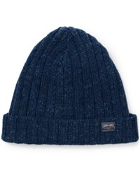 Denim And Supply Ralph Lauren Ribbed Cotton Hat Blue