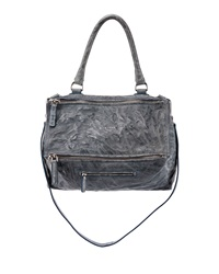 Givenchy Pandora Medium Leather Satchel Bag Mineral Blue