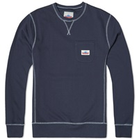 Penfield Hopedale Crew Neck Sweat Navy