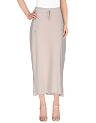 Ean 13 Skirts 3 4 Length Skirts Women Beige