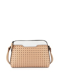 Kelsi Dagger Northside Baby Leather Crossbody Bag Vachetta