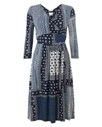 East Marrakech Jersey Dress Indigo