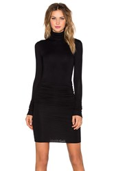 Twenty Turtleneck Dress Black