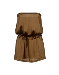 L'autre Chose L' Autre Chose Tube Tops Brown