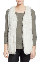 Junior Women's Jolt Faux Fur Vest