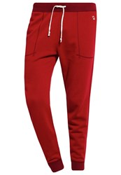 Abercrombie And Fitch Tracksuit Bottoms Red Bordeaux