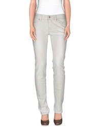 Nolita Denim Denim Trousers Women Beige