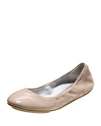 Avery Patent Grand Os Ballerina Flat Maple Sugar Cole Haan