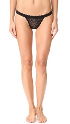 Hanky Panky After Midnight Wink Keyhole Bikini Briefs Black