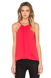 Bcbgmaxazria Christine Tank Red