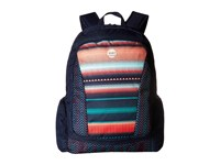 Roxy Alright Backpack Jagged Stripe Backpack Bags Multi