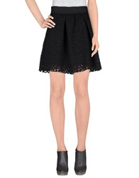 Mariuccia Skirts Mini Skirts Women Black