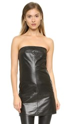 Mcq By Alexander Mcqueen Tube Top Black