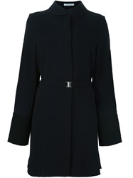 J.W.Anderson J.W. Anderson 'French Cuff' Belted Coat Dress Blue