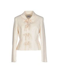 Moschino Cheap And Chic Moschino Cheapandchic Suits And Jackets Blazers Women Ivory
