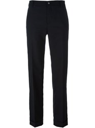 Golden Goose Deluxe Brand Straight Leg Trousers Black
