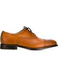 Church's Perforated Oxfords Brown