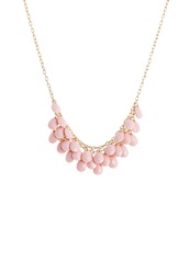 Anna Field Necklace Gold Peach