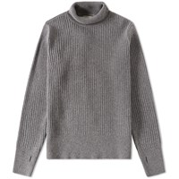 Oliver Spencer Rib Roll Neck Knit Grey