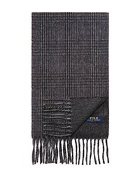 Ralph Lauren Double Face Glen Plaid Scarf