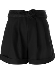 Jay Ahr Rope Detail Shorts Black