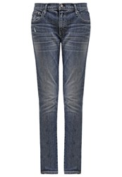 Earnest Sewn Jane Slim Fit Jeans Mayfair Blue Light Blue