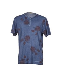 Bellwood Topwear T Shirts Men Blue