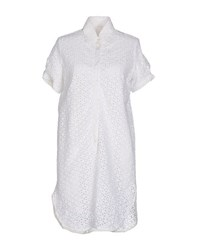 Aglini Dresses Short Dresses Women White