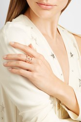 Stephen Webster Thorn 18 Karat Rose Gold Diamond Ring