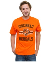 Authentic Nfl Apparel Men's Cincinnati Bengals Halfback T Shirt