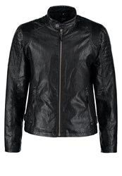 Gipsy Baxter Faux Leather Jacket Schwarz Black