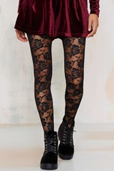 Nasty Gal Look From London Nice Stems Lace Tights