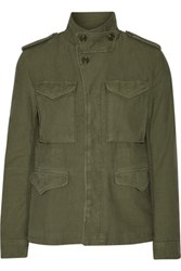 Nlst Skinny M 43 Cotton Canvas Jacket Army Green