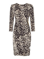 Episode Jersey Wrap Dress Leopard Print