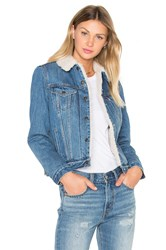 Levi's Authentic Sherpa Trucker Jacket Movin' And Shakin'
