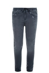 R 13 Denim Jogging Trousers Grey