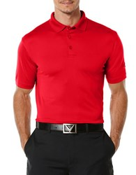 Callaway Athletic Polo Red