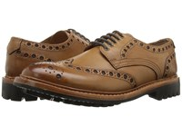Lotus Cavendish Antique Tan Leather Men's Shoes Brown