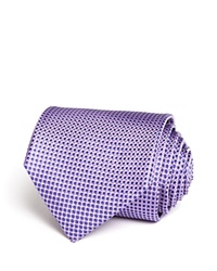 The Men's Store At Bloomingdale's Micro Harlequin Classic Tie Lilac