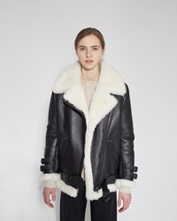 Acne Studios Velocite Jacket Black Off White
