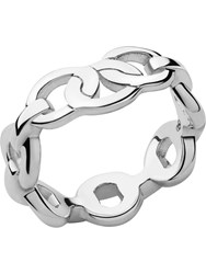 Links Of London Signature Sterling Silver Band Ring Silver