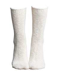 Lemon Country House Crew Socks Polar
