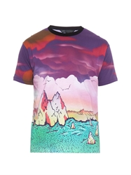 Marc By Marc Jacobs Mars Print Jersey T Shirt