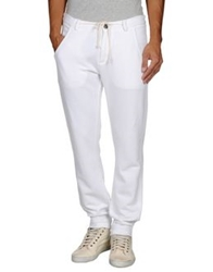Master Coat Casual Pants White